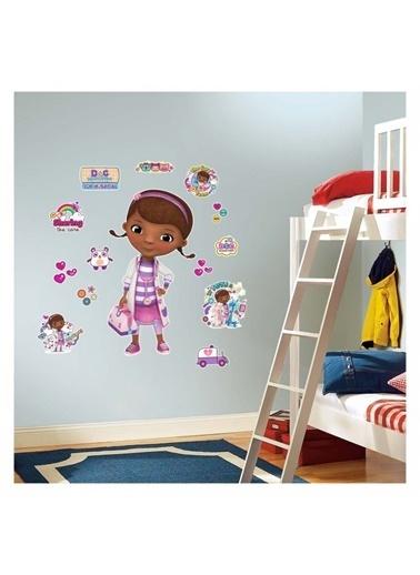 Disney Doktor McStuffins 35x50 cm Duvar Sticker Renkli